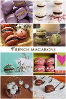 My french macarons by kupenska