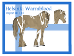 The Helsinki Warmblood Import ID 145# by LiaLithiumTM
