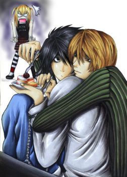 Death Note Yaoi by litzebitz