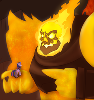 MLP - 'Audience with Firelord' by Krekka01