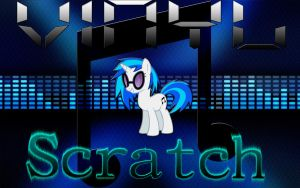 Vinyl Scratch Wallpaper by Mr-Kennedy92