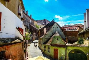 Somewhere in Sibiu by Reiep