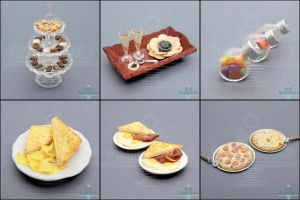 Sale - Dollhouse Scale Foods by Bon-AppetEats