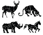 animal icons by Fsalvaterra