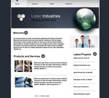 Lister Industries site by KalvinK