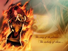Endsong Phoenix by Ithildiel