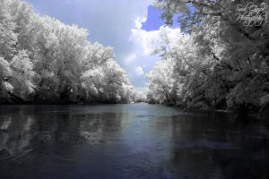 Green River Infrared by GothicAmethyst