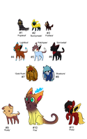 Mix Adopts Set - Adopted by Feralx1