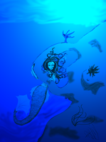 Depths of Mystery -Underwater- by Admerxin13