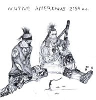 Native American's 2154 A.C. after The Nuke by MADrussky
