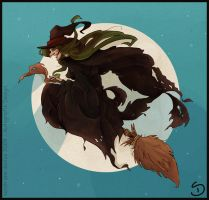broomstick by Araniel