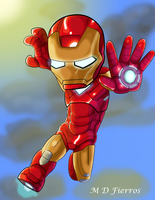 Chibi Iron man by Ironmatt1995