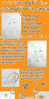 Colored Pencil Tutorial by suicidevegie