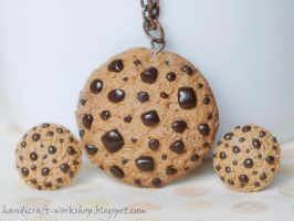 Chocolate chip cookies - set by Panna-Kot