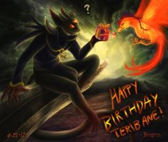 Teribane Birthday Card 2012 by yurionna