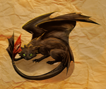 Toothless Cat by Finchwing