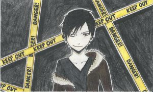 Izaya Orihara by bleepbloop559