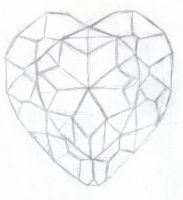 Heart Crystal :sketch: by OrotheEchidna