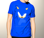 Sonic T-shirt by blo0p