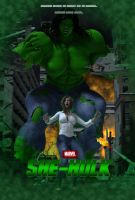 She-Hulk Poster by OrionPax09