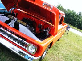 Orange Chevy 2 by JeremyC-Photography
