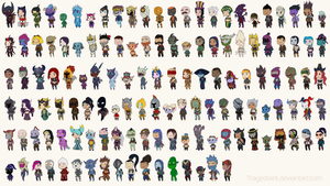 league of legends, all champions by TragediaIrk