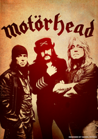 Band Poster: Motorhead by elcrazy