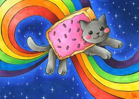 Nyan Cat by Merinid-DE