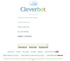 Cleverbot is Germany. by ImWeird4You