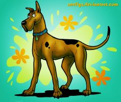 Scooby DOO by Anellyz