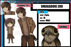 Omadobu - Paris the Potoo by PomSpom