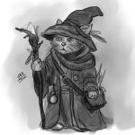 Wizard Cat by catmushrooms