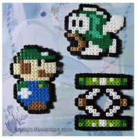 Green: Luigi world by Kadajo