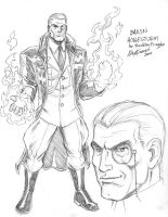 Baron Hollesturm by McKinney by WemblyFraggle