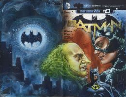 Batman Sketch Cover by JeffLafferty