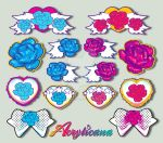 Roses and Wings Collection by marywinkler