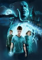 harry potter and the order by Marcus86