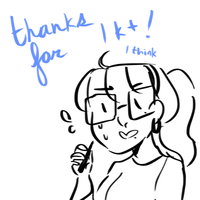 tysm for 1k+ pageviews???? by ama-je