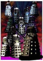 Evil-ution of the Daleks by jlfletch