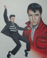 elvis presley by JeffEvans