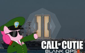 Black Ops 2 Pinkie Pie by SLII