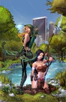 Robyn Hood Legend - 3c Cover by vest
