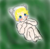 Human Baby Long Forgotten by AbominalSnowDemon