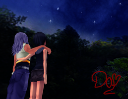 Riku And Xion by danit09182