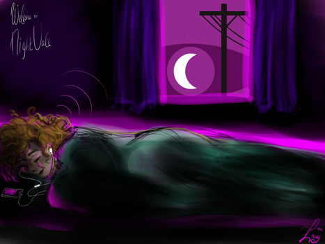 Welcome to Night Vale before going to sleep by Lauy-Catta