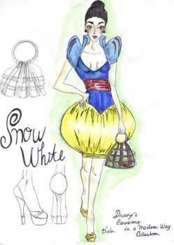 DCMW's Collection- Snow white by 66Erusa66
