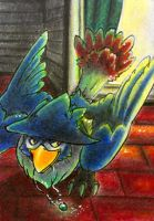 Honchkrow ACEO by Raccun