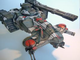 Tau Hammerhead Gunship by ims360