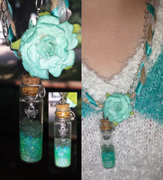 bottle charm pendant #1 by sewer-pancake