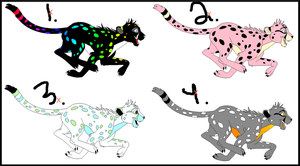 Cheetah Adopts: CLOSED by Aliyah-Adopt